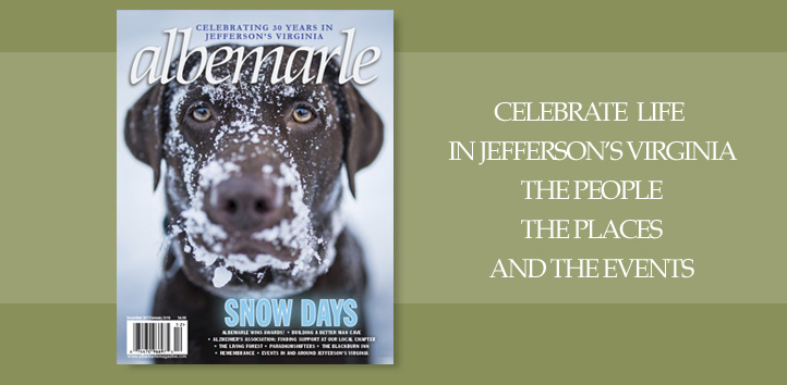 albemarle Magazine: Living in Jefferson's Virginia